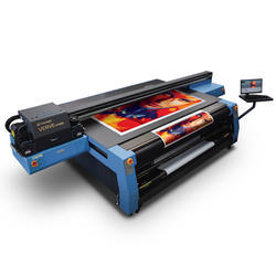 UV Hybrid Flatbed Printing Machine