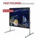 Tripod Black Fast Folding Projection Screen