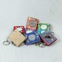 Key Rings - Lac Diaries with Mirror with Key Chains