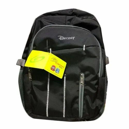 Printed Backpack Boys Black School Bag, Age Group  1-10 Years, Rs ... 71a9efa808