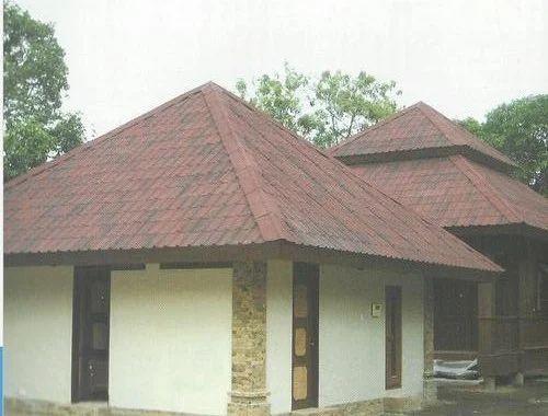 Pyramid Roofing structure Work, छत का कार्य, रूफ वर्क, रूफ ...