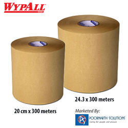 Wypall L10 Natural Utility Brown Wipes