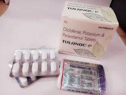 Diclofenac Potassium 50mg, Paracetamol 325mg