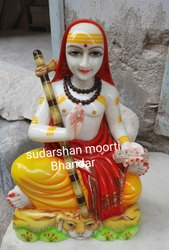 Marble Shankracharya Statue