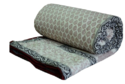 Cotton Printed Kantha Quilt For Home