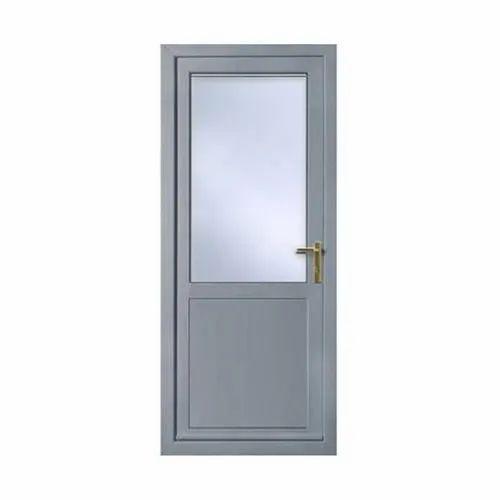 Grey Aluminium Bathroom Door