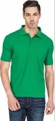 Green Polo Neck T Shirts