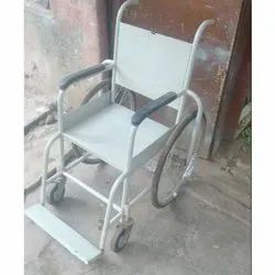 Stainless Steel Hospital Wheelchair