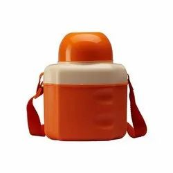 Plastic Orange School Water Bottle, Capacity: 400 Ml