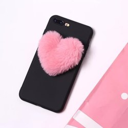 Black And Pink Plastic Designer Mobile Back Cover, Packaging Type: Packet