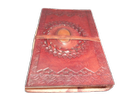 Vintage Leather Stone Handmade Journal