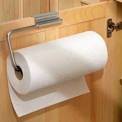 White Plain Kitchen Tissue Rolls, 34-35