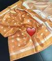 Tissue Linen Ball Buta Sarees