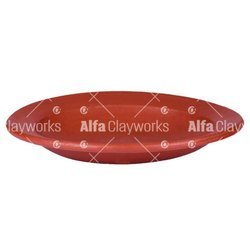 Plain Alfa Clayworks Terracotta Dinner Plate, Size: 9.5 Inches