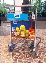 airport media Pune Airport Advertising Media Trolley, In Maharashtra, airport media