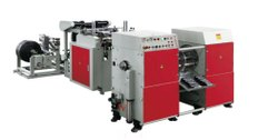 Automatic Double Line Coreless Roll Garbage Bag Making Machine, Capacity: 20-40 (Pieces per hour)