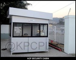 ACP Customized Security Cabin