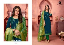 Chudidar Silk Cotton Dress Material