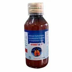 Ambroxol Hydrochloride Levosalbutamol Sulphat and Guaiphenesin Syrup