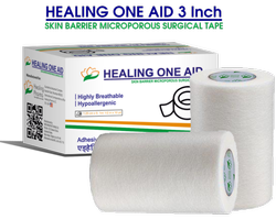 Healing One Aid 3 Inch - Micropore Surgical Tape Monocarton
