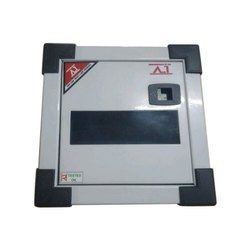 AI Mild Steel (MS) MCB Box 8 Way Double Door Box for Electric Fittings