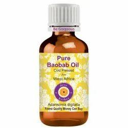 Deve Herbes Pure Baobab Oil (Adansonia Digitata) 100% Natural Therapeutic Grade Cold Pressed