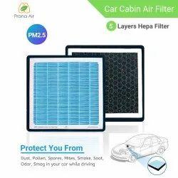 Prana Air Car Cabin Air Filter For Anti-Pollution PM2.5, Model Name/Number: PL-PA-0106