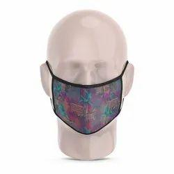Horse Cart Reusable Printed Face Mask