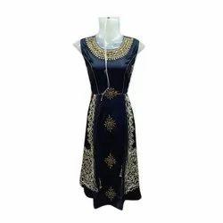 Ladies Designer Cotton Gown