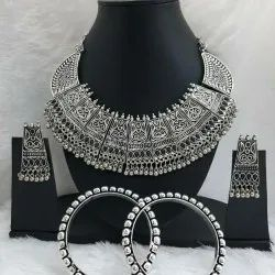 OXIDIZED combo Necklaxe Set