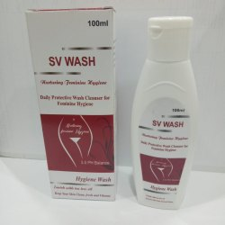 Natural SV Wash, Packaging Size: 100 Ml