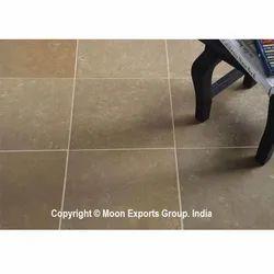 Tandur Yellow Honed Limestone Interior Flooring Tiles, Packaging Type: Box, Thickness: 5-10 mm