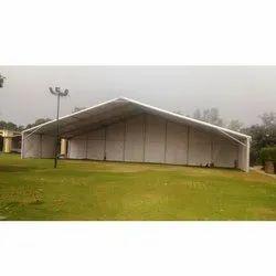 White Aluminium Tent Hanger