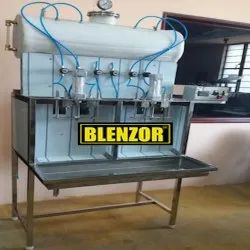 Counter Pressure Electric Soft Drink Filling Machine, Capacity: 1200 Bottles Per Hour
