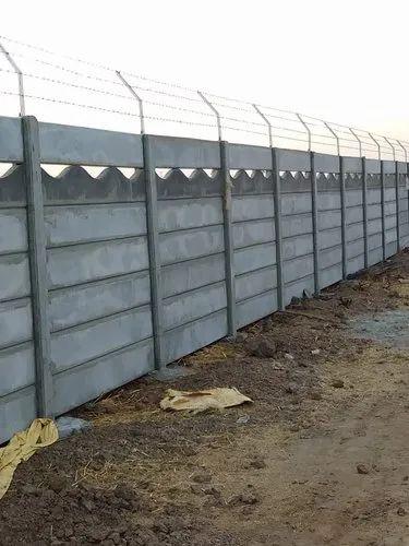 Traditional Boundary Wall