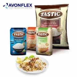 Rice Packaging Plastic Pouch
