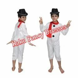 Kids Snow Man Costume