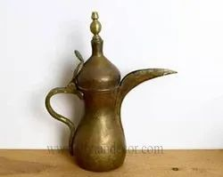 Moroccon Antique Coffee Pot(Brass Dallah)