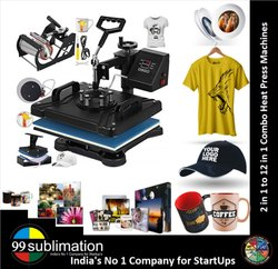 99sublimation 3 in 1 Combo Heat Press Machine for T Shirts Roks Gifts