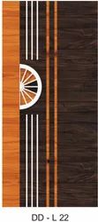 Exterior Laminated DD-L22 Glossy Lamination Doors for Home
