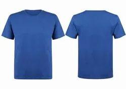 Men's Plain Cotton Round Neck T Shirt