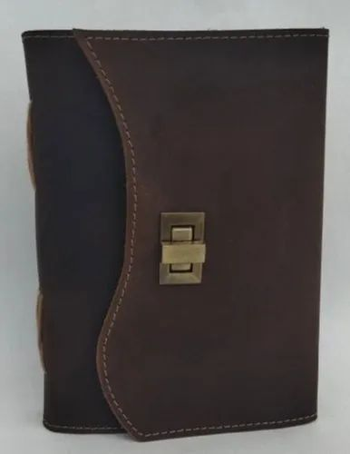 ANTIQUE LOCK CLOSURE LEATHER JOURNALS