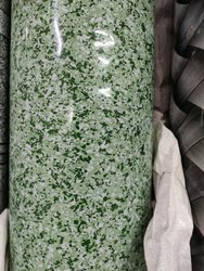 Printed Green and White Vinyl Flooring Roll