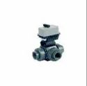Pneumatic And Electrical Valves With Three Way Ball Valve
