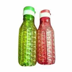 Global Green, Red Plastic School Bottle