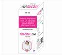 Simenthicone 50%, 40mg diastase, 25mg pepsin, 20mg thiamine mononitrate, 2mg riboflavin,NYAZYME-SM