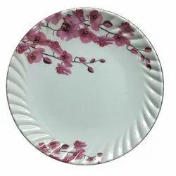 Melamine Laher Half Plate