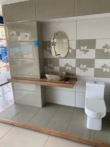 Kajaria Gloss Bathroom Tiles, Size: 30x60 cm, Rs 70 ...
