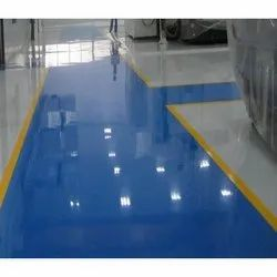 High Gloss Oil Based Paint Epoxy Floor Coating, Packaging Type: Can, Packaging Size: 20 L
