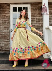 908e9ff924 Rayon Embroidery Kurti, Rs 360 /piece, Khushbu Textile   ID: 15878577973